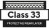 Beanspruchungsklasse 33 - schützende Nutzschicht